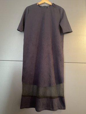 COS Robe mi-longue bleu foncé