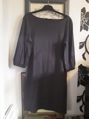 COS Longsleeve Dress dark grey-anthracite