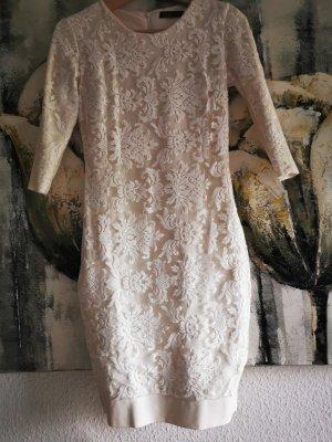 Kleid von Dalia, Creme, wollweiß, S, sexy, elegant, S.