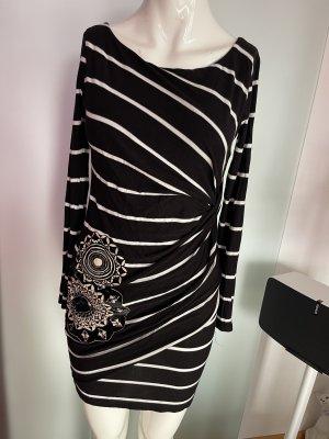 Kleid von Desigual Gr 34 36 S gestreift