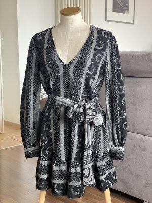 Devotion Mini Dress black-silver-colored