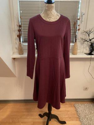 Kleid von edc Esprit in Größe XL in Bordeaux