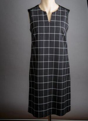 Esprit Robe mi-longue blanc-noir tissu mixte