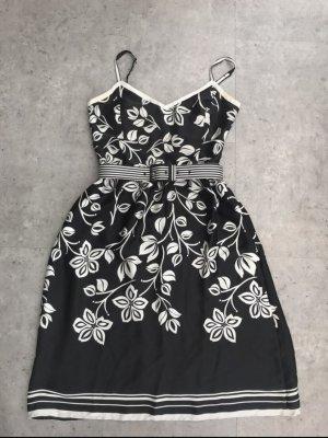 Esprit Sukienka o kroju litery A czarny-biały