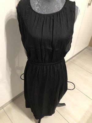 Esprit Robe mi-longue noir-blanc