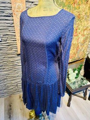 Kleid von Esprit , blau, mit Spitze , neu, Größe 36