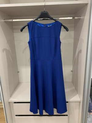 Esprit Robe à volants bleu