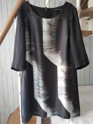 Expresso Sukienka o kroju litery A czarny-szary