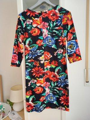 Flame Letnia sukienka Wielokolorowy Bawełna