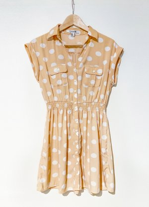 Forever 21 Blouse Dress multicolored polyester