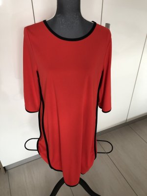 FREE / QUENT Robe tunique rouge