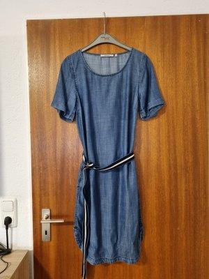 Garcia Robe à manches courtes bleu
