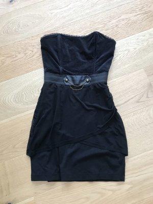 Sukienka gorsetowa czarny