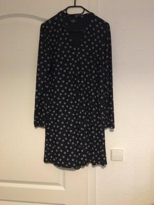 Gina Benotti Longsleeve Dress white-dark blue