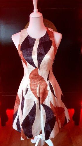 H&M Cut Out Dress multicolored