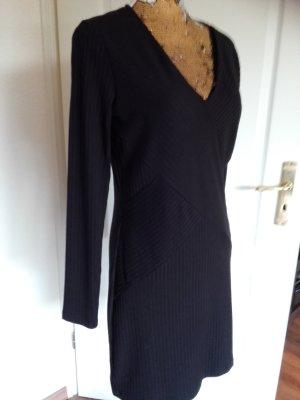 H&M Robe à manches longues noir