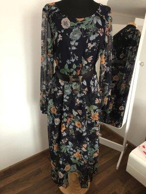 H&M Chiffon jurk veelkleurig