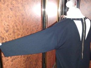 H&M Bustier Dress black-sand brown polyester