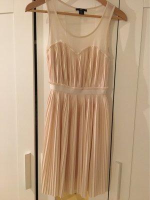 H&M Bustier Dress nude-apricot