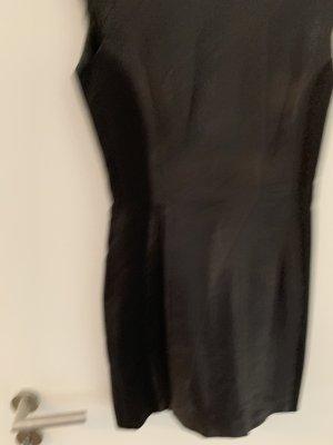 H&M Vestito in pelle nero