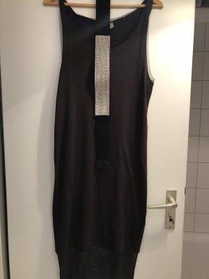 H&M Robe t-shirt noir