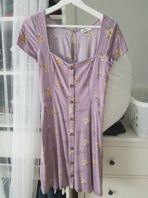 Hollister Sukienka dresowa bladofiołkowy