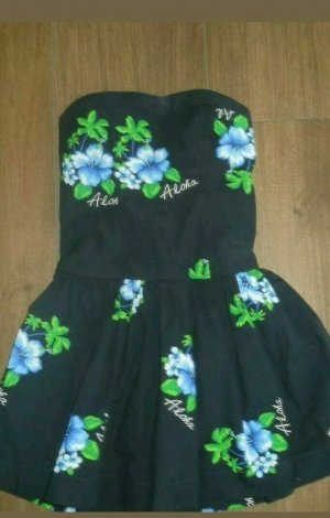 Hollister Bustier Dress black-green
