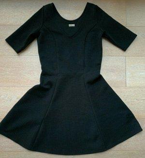 Hollister Peplum Dress black