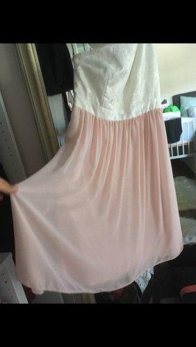 Kleid von Jake's in rosa und weiß Größe XS