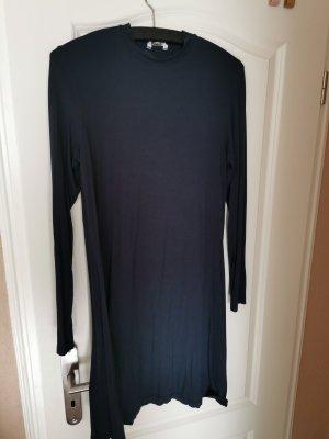 mbyM Vestido de tela de jersey azul oscuro