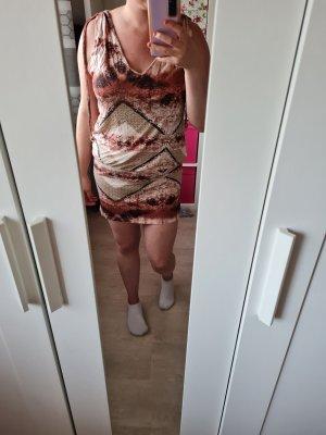Lascana Shortsleeve Dress bronze-colored