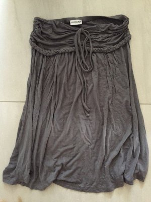 Lascana Off-The-Shoulder Dress green grey