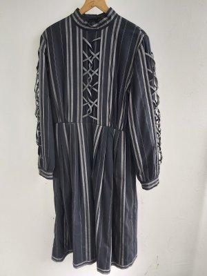 Kleid von Laura Biagotti Pret a Porter in schwarz/grau Größe 44   100 % Cotton