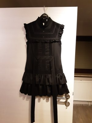 Lipsy Flounce Dress black