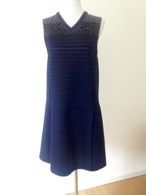 Louis Vuitton Midi Dress dark blue