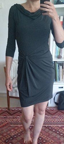 Luisa Cerano Stretch jurk antraciet