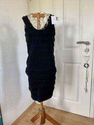Mango Basics Tube Dress black