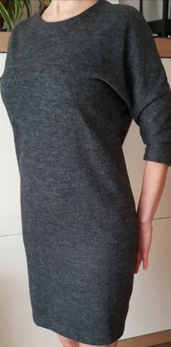 Mango Longsleeve Dress silver-colored-black
