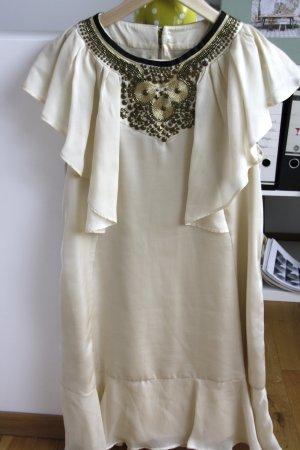 Kleid von Mango mit besticktem Dekolleté / Kragen