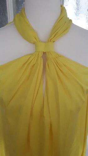 Kleid von Mango Suit. Gelb