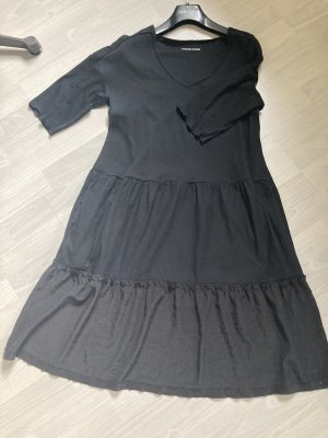 Marc Cain Flounce Dress black cotton