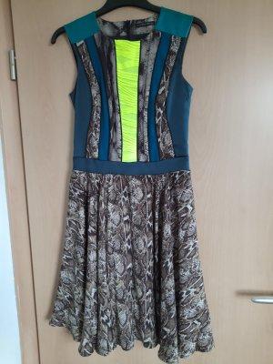 Marcel Ostertag Mini Dress multicolored