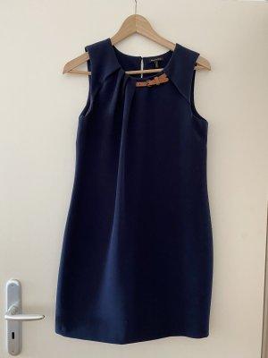 Massimo Dutti Sheath Dress dark blue