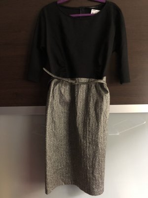 Weekend Max Mara Cocktail Dress black-gold-colored