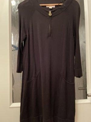 Michael Kors Gebreide jurk zwart-goud