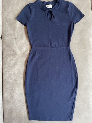 Milly Mini Dress blue-dark blue viscose
