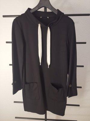 Minx Sweater Dress black-white viscose