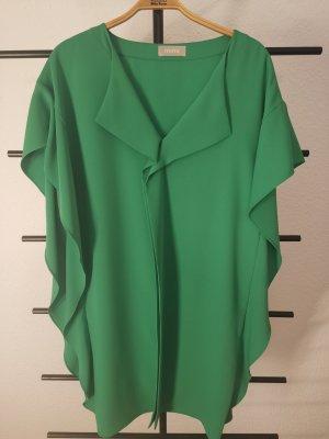Minx Vestido estilo flounce verde Poliéster