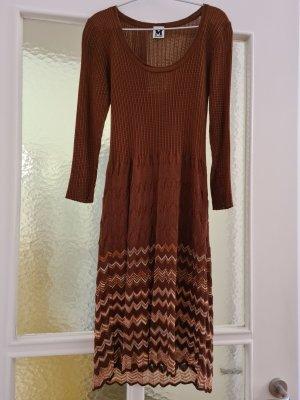 Missoni Gebreide jurk bruin