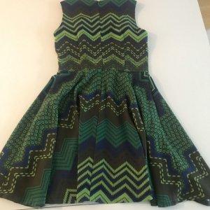 Kleid von MISSONI Gr S ungetragen wie neu Cocktailkleid  grün/braun/blau